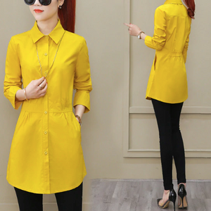Long sleeved loose blouse