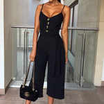 Load image into Gallery viewer, Casual Wide Leg Pants Jumpsuit