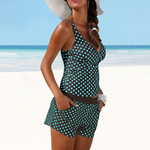 Load image into Gallery viewer, Polka Dot High Waist Bikini