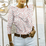 Load image into Gallery viewer, Short Sleeve Polka Shirt