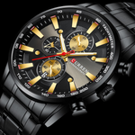 Load image into Gallery viewer, Zen Curren 7757 chronograph