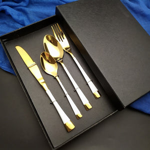 Stylish Kitchen Stainless Steel Cutlery Set