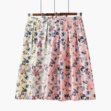 Fashion Floral Vintage Jupe