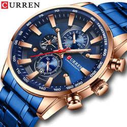 New CURREN Men Watches - Classic Aesthetic Design