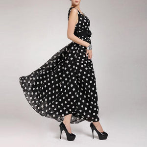 Summer Beach Polka Dot Sleeveless