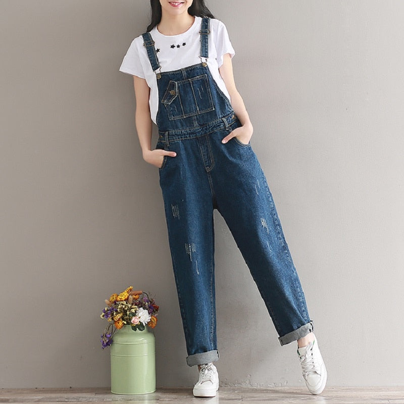 Jeans Jumpsuits Belt