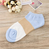Comfortable Stripe Cotton Sock Slippers