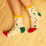 Cotton Fruit Socks Women