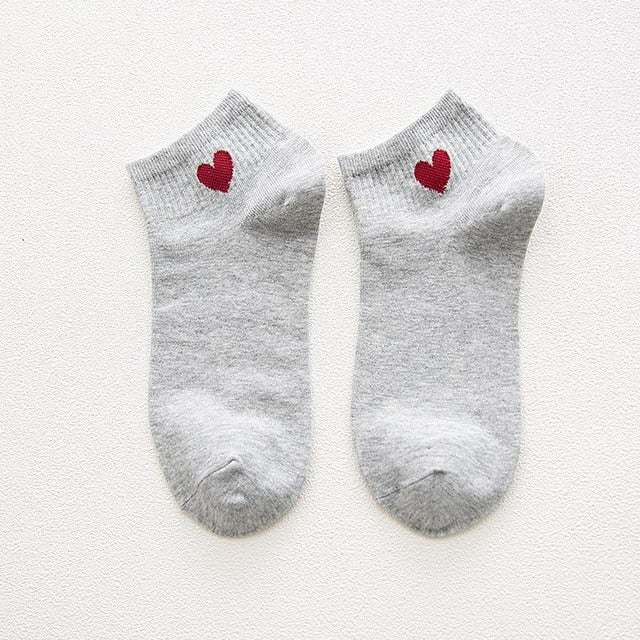 Red Heart Cotton socks