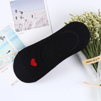 Red Heart Invisible Socks