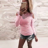 Lace Long Sleeve T-shirt