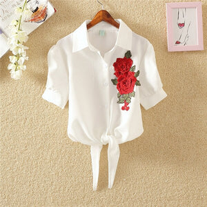 Women's Embroidery Blouses
