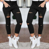 Skinny Pencil Pants