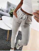 Casual High Waist Pants