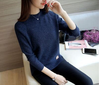Women Sweaters Casual Knitted