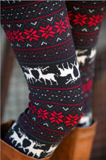 Load image into Gallery viewer, Winter Christmas Leggings