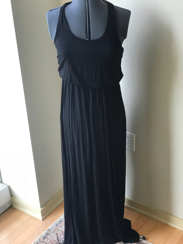 Lush Long Black Dress