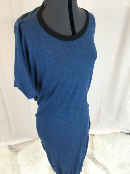 Moda - Cashmere Blend Slouch Comfortable Dress - Sz Small
