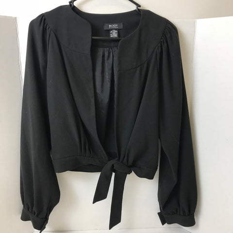 Victoria Secret - Long Sleeve Tie Dressy Blazer Cardigan - Sz 4