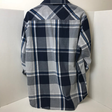 Eighty Eight Platinum - Long Sleeve Flannel Shirt - Sz - HEART 'n' SLEEVE