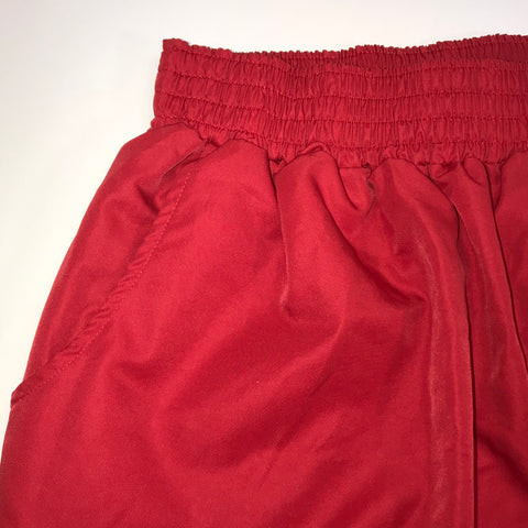 American Apparel - Kid's Red Short Skirt Elastic Waist - Sz Large - HEART 'n' SLEEVE