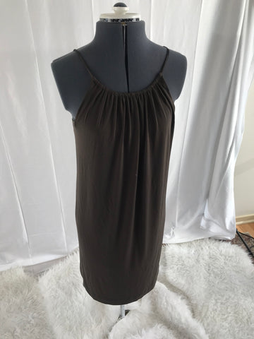 New York & CO - Stretch Brown Dress - Sz Small - HEART 'n' SLEEVE