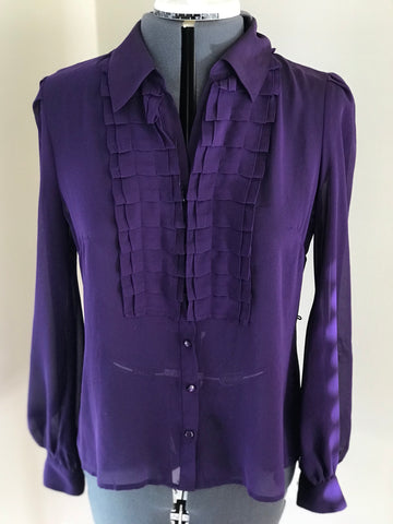 Purple Blouse no tag - HEART 'n' SLEEVE
