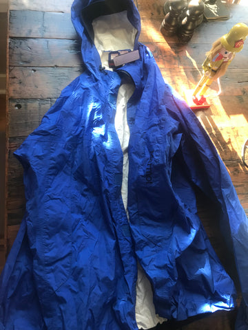 Columbia Blue Rain Jacket - HEART 'n' SLEEVE
