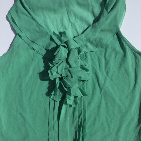 The Limited – The Perfect Office/Social Sleeveless Sage Colored Blouse Top - Sz Medium