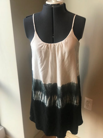 Ya - Ombré Tie Dye Dress with Low Cut Back - Sz Small