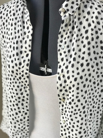 Polka dot button Up - HEART 'n' SLEEVE