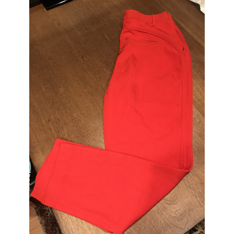 Marc by Marc Jacob - Red Silk Blend Capri Dress Pants - Sz 4 - HEART 'n' SLEEVE