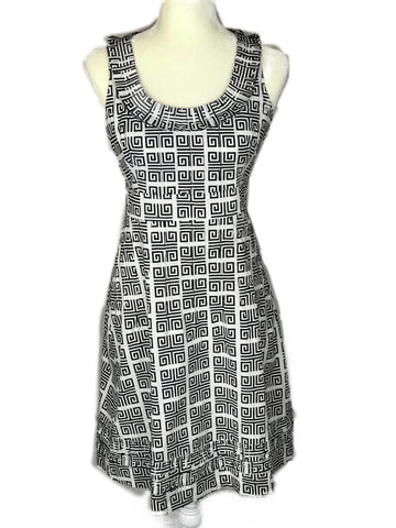 Tory Burch Black and White Dress