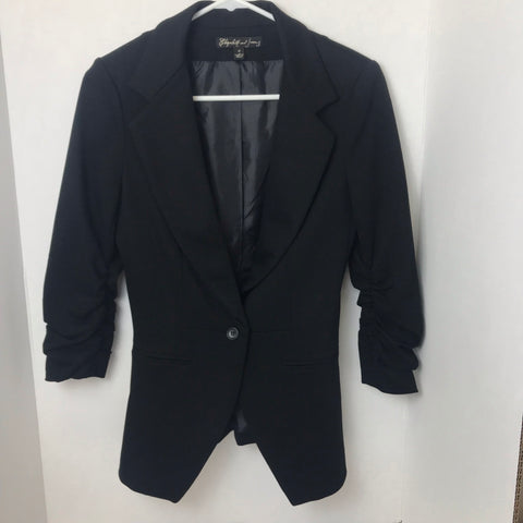 Black stretch Blazer - HEART 'n' SLEEVE