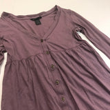 Button up dress kids - HEART 'n' SLEEVE
