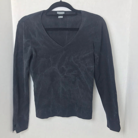 Sweater with Stain Design