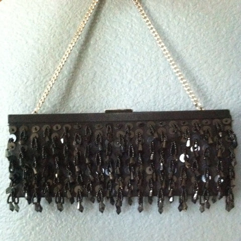 Banana Republic Beaded Purse - HEART 'n' SLEEVE