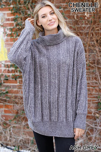 Aspen - Oversized Knit Sweater