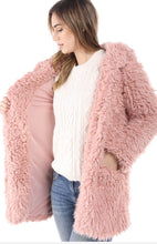 Aurora - Fuzzy Teddy Bear Coat