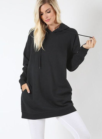 Ari - Oversized Hooded Sweatshirts