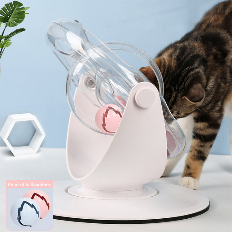 3D Cat Interactive Track Rolling Ball Training Toy