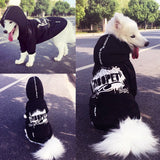street style hoody for big dog