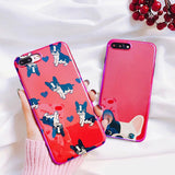 Fashion Lovely Cartoon Pocket Dogs iPhone Cases