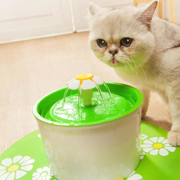 Daisy Automatic Cat Drinking Fountain