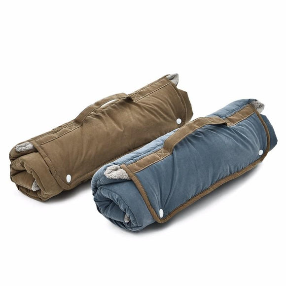 Portable double-side Dog Mat for Travel
