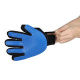 Silicone Pet brush Glove, fur remover