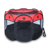8 sides Portable Folding Dog Tent