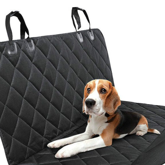 Waterproof Pets Car Seat Cover, Best Luxurious Protector for Backseat