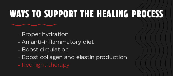 How to support the healing process