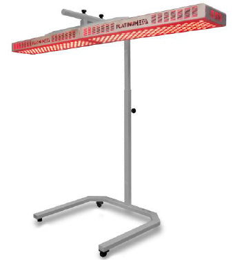 Red light therapy stand